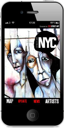 Geo Street Art New York Splash