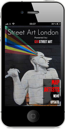 Geo Street Art London Splash